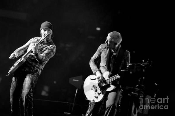 Photograph - U2 by Jenny Potter