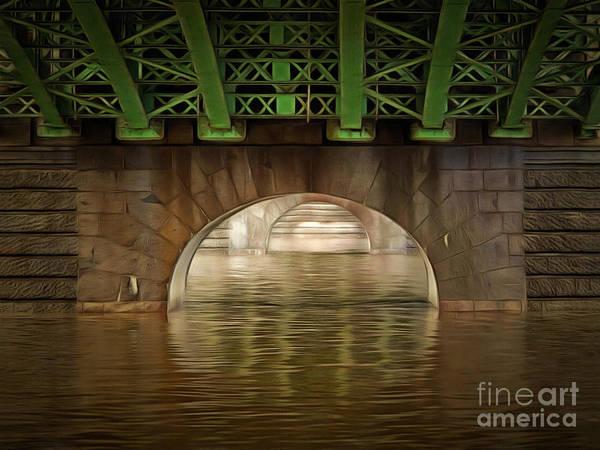 Wall Art - Digital Art - Under The Bridge by Michal Boubin