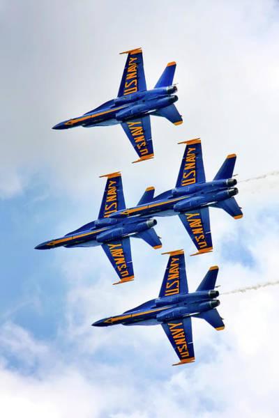 Photograph - Us Navy Blue Angels by KG Thienemann