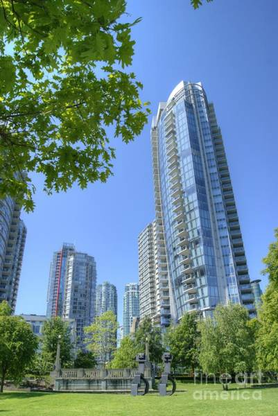 Photograph - Vancouver Cityscape by David Birchall