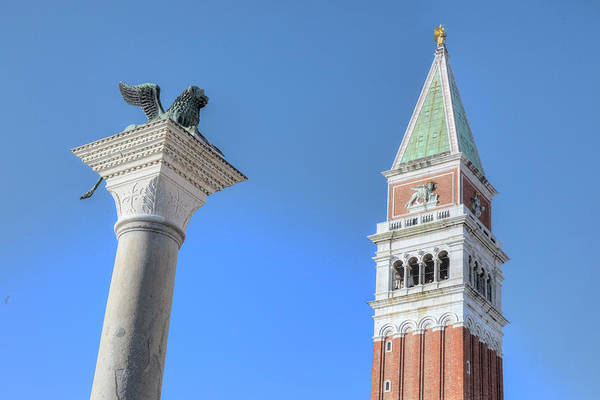 St Mark's Basilica Photograph - Venice - Italy by Joana Kruse