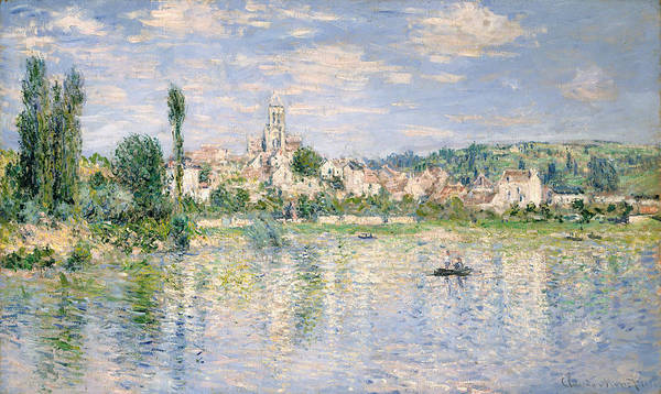 Painting - Vetheuil In Summer by Claude Monet