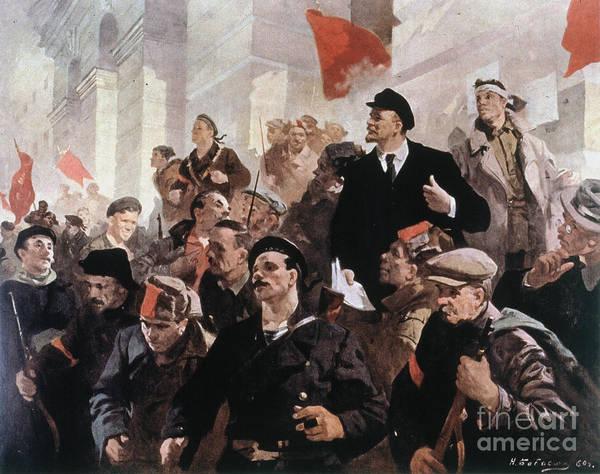 Photograph - Vladimir Lenin (1870-1924) by Granger