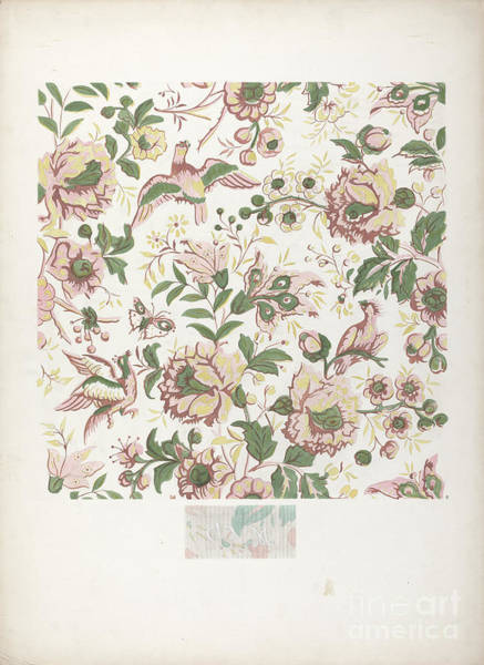 Wall Art - Drawing - Wallpaper by American 20th Century