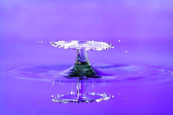 Photograph - Water Drop Umbrella by Max Neivandt
