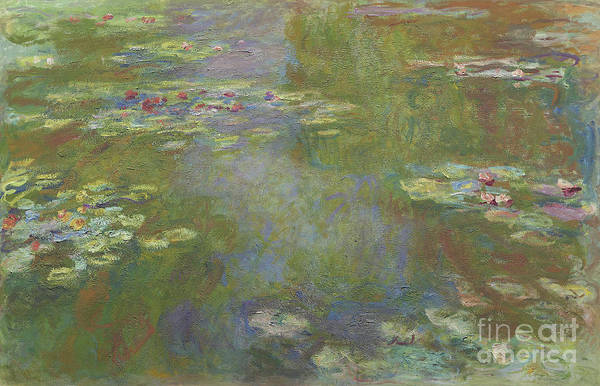 Wall Art - Painting - Water Lily Pond by Claude Monet