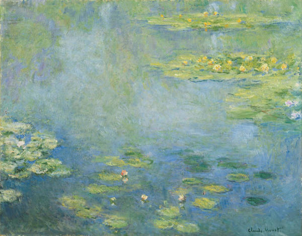 Painting - Waterlily Pond by Claude Monet