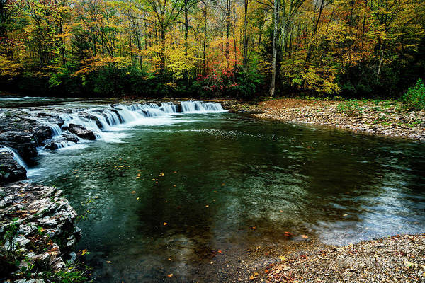 Photograph - Whitaker Falls In Autumn by Thomas R Fletcher