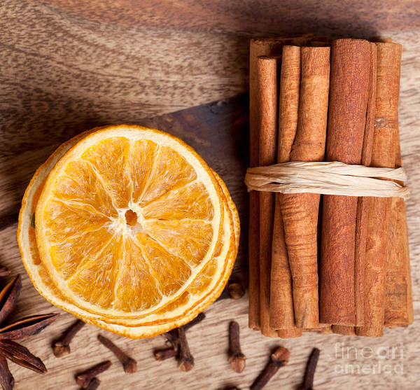 Wall Art - Photograph - Winter Spices by Nailia Schwarz