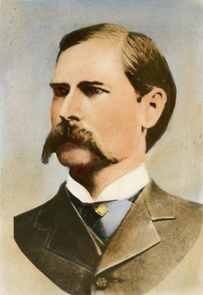 Wall Art - Photograph - Wyatt Earp, 1848-1929 by Granger