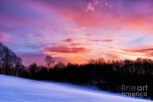 Photograph - Appalachian Afterglow by Thomas R Fletcher