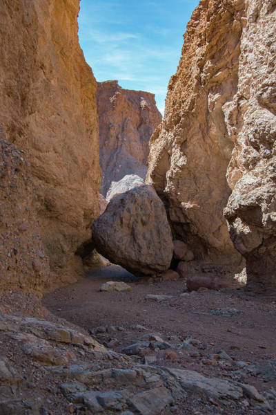 Photograph - 30 Foot Rock Natural Bridge Trail Death Valley Ca by Michael Bessler