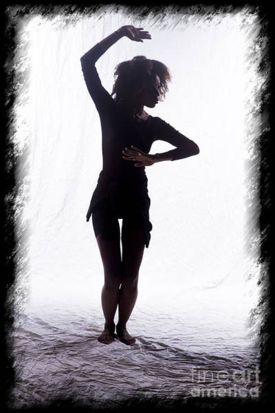 Photograph - Mercedes Dancer Modeling In Studio by Dan Friend