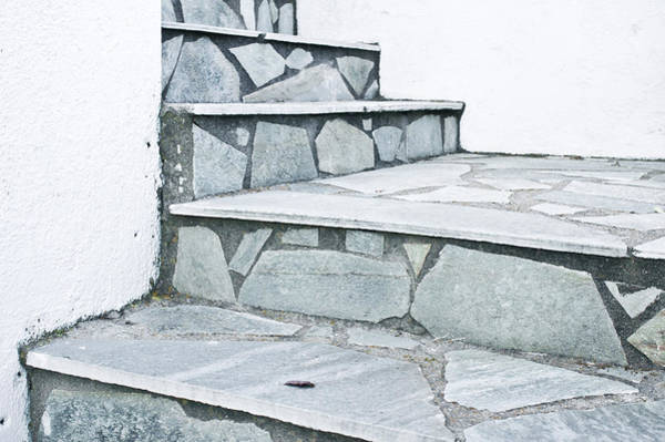 Promotion Photograph - Stone Steps by Tom Gowanlock