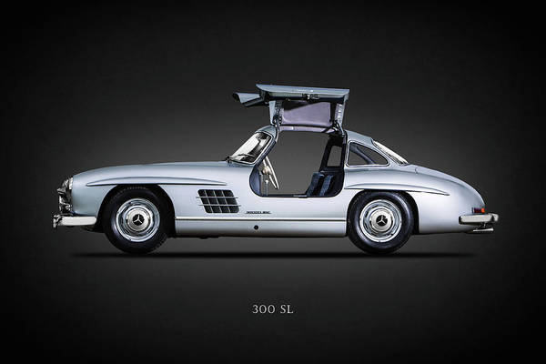 Mercedes Photograph - 300 Sl Gullwing 1954 by Mark Rogan