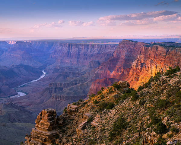 Beautiful Park Photograph - Canyon Glow by Mikes Nature
