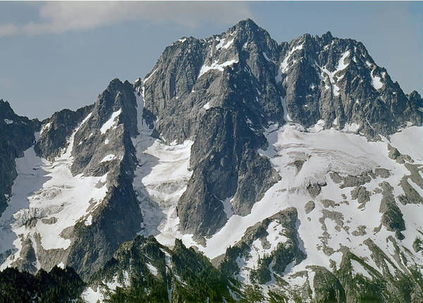304630 North Face Mt. Stuart Art Print