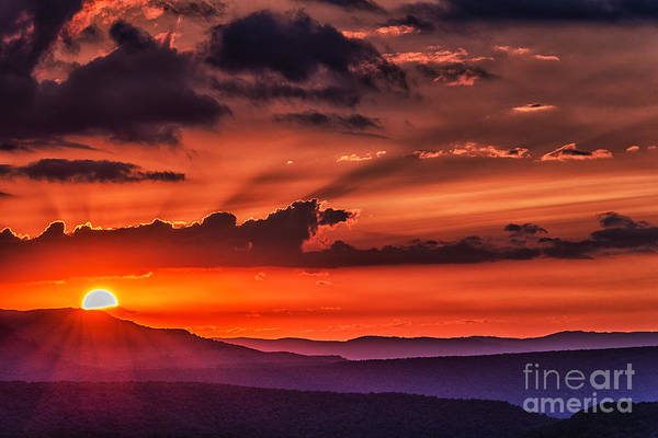 Highland Scenic Highway Wall Art - Photograph - Allegheny Mountain Sunrise #11 by Thomas R Fletcher