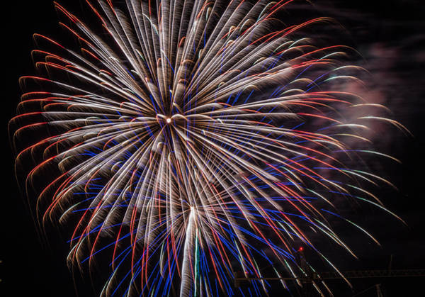 Photograph - Fireworks 2015 Sarasota 7 by Richard Goldman