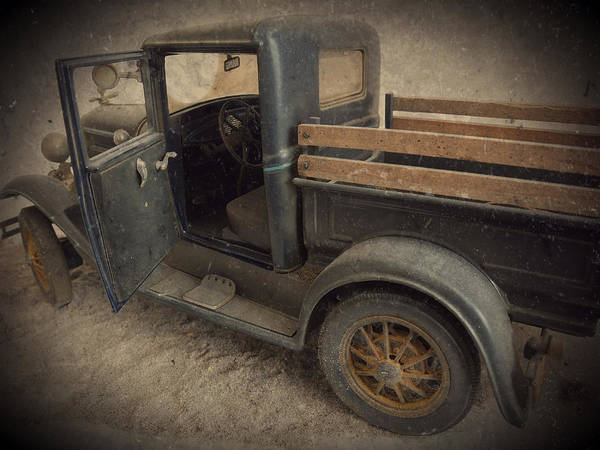 Wall Art - Photograph - Diecast 31 Ford Truck by Scott Kingery