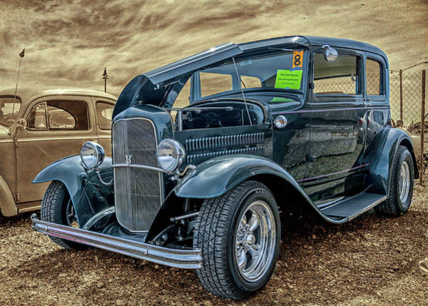 Photograph - 31 Ford Victoria by Bill Posner