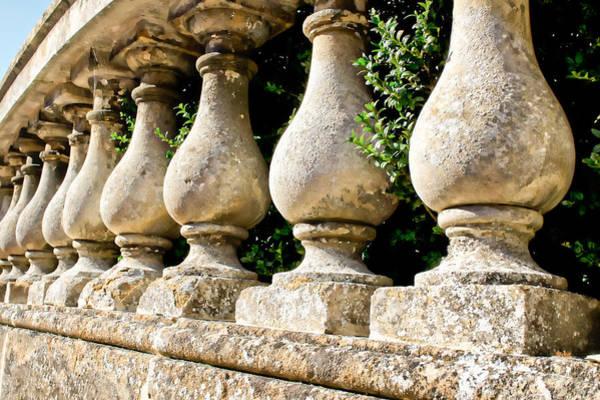 Baluster Wall Art - Photograph - Stone Wall by Tom Gowanlock