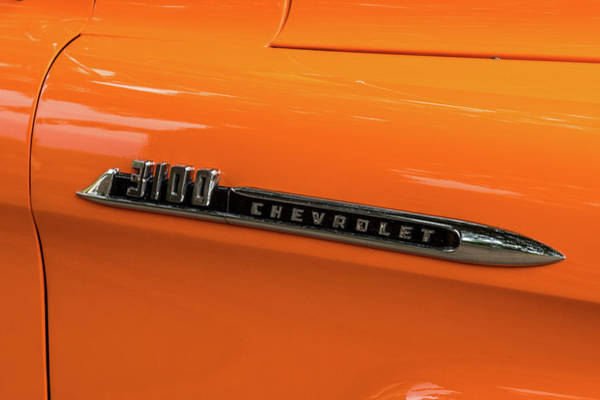 Wall Art - Photograph - 3100 Chevy Truck by Paul Freidlund
