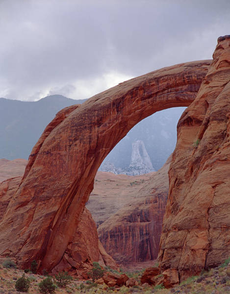 Photograph - 312802 Rainbow Bridge National Monument 1 by Ed Cooper Photography