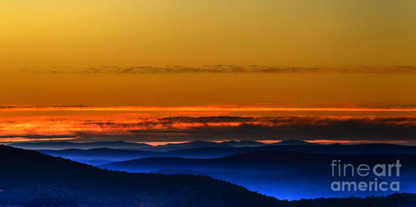 Highland Scenic Highway Wall Art - Photograph - Allegheny Mountain Sunrise #18 by Thomas R Fletcher