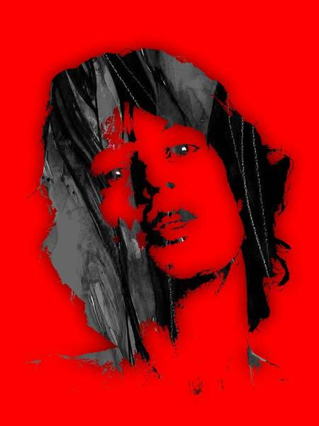 Wall Art - Mixed Media - Mick Jagger Collection by Marvin Blaine
