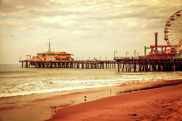 Photograph - Santa Monica Pier Collection- 28/36 by Gene Parks