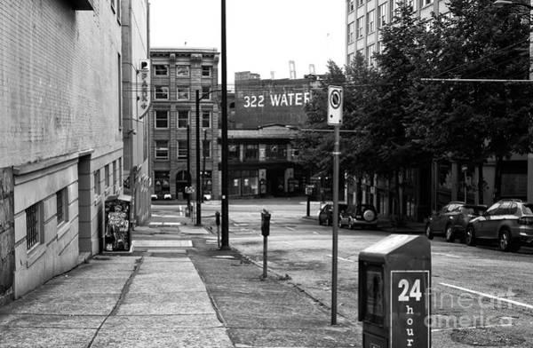 Wall Art - Photograph - 322 Water Street Mono by John Rizzuto