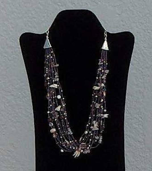 Freshwater Pearls Wall Art - Jewelry - Raspberry Creme by Eleanor Love