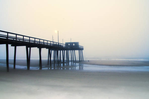 Wall Art - Photograph - 32nd Street Pier In The Fog by Bill Cannon