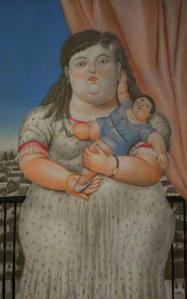 Wall Art - Digital Art - Bogota Museo Botero by Carol Ailles