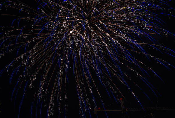 Photograph - Fireworks 2015 Sarasota 5 by Richard Goldman