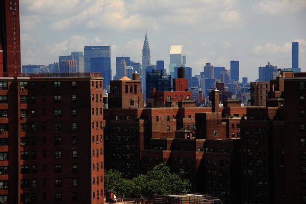 Tenement Photograph - New York City Skyline 3 by Frank Romeo