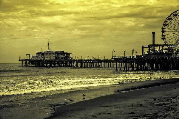 Photograph - Santa Monica Pier Collection- 36/36 by Gene Parks