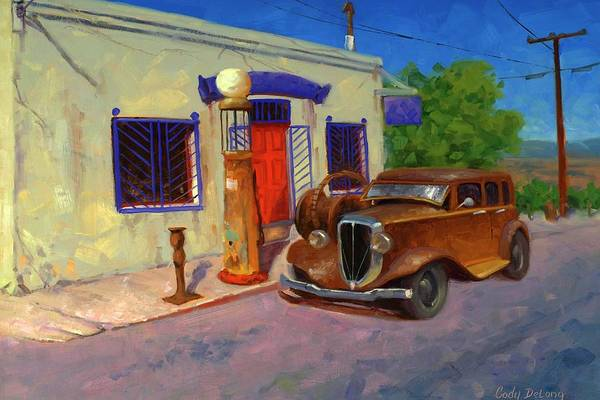 Old Car Wall Art - Painting - 33 Studebaker  by Cody DeLong