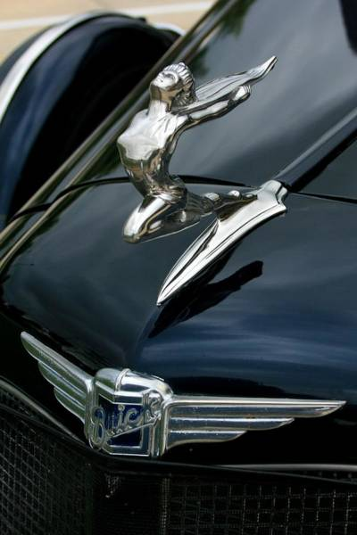 Photograph - 34 Buick - The Lady Can Fly by David Dunham