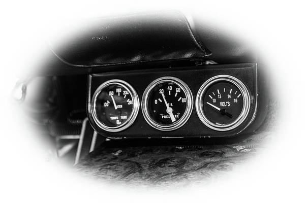 1969 Pontiac Firebird Photograph - Classic Cars by Mickie Bettez