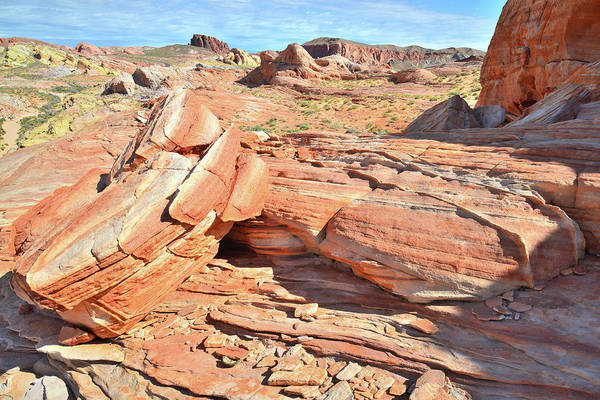 Photograph - Colorful Sandstone In Valley Of Fire by Ray Mathis