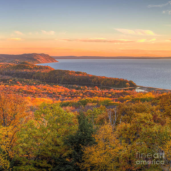 Fall In Sleeping Bear Dunes Art Print by Twenty Two North Photography