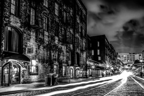 Savannah Georgia Waterfront And Street Scenes  Art Print