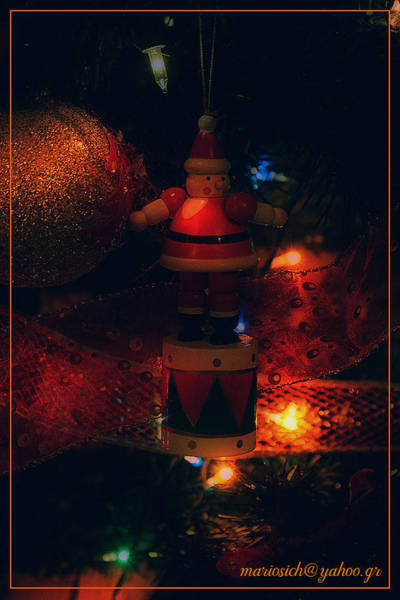Christmass Photograph - This Is Greece by Marios Sabanis