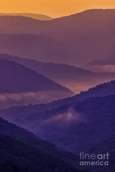 Highland Scenic Highway Wall Art - Photograph - Allegheny Mountain Sunrise Two by Thomas R Fletcher