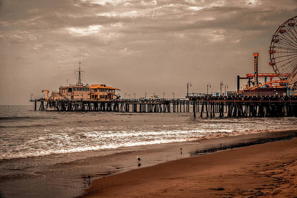 Photograph - Santa Monica Pier Collection- 30/36 by Gene Parks