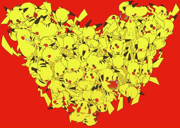 Pokemon Wall Art - Digital Art - 35558 Pokemon by Mery Moon