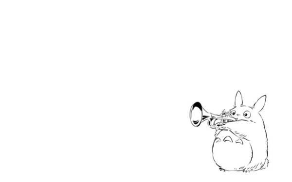 Totoro Digital Art - 35744 My Neighbor Totoro by Mery Moon