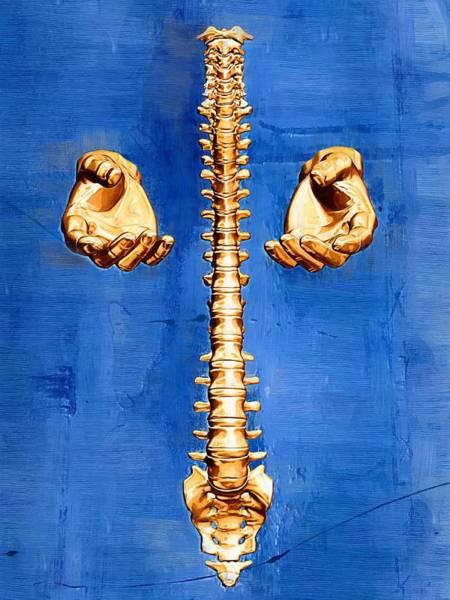Backache Digital Art - Healing Hands by Joseph Ventura